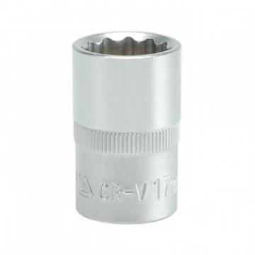 Cheie tubulara bihexagonala CR-V 17 mm, 1 2
