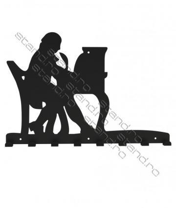 Cuier metalic Compozitor - 4238 de la Rolix Impex Series Srl