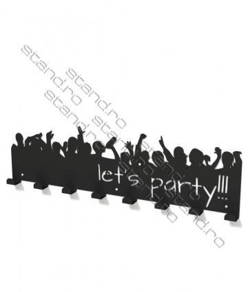 Cuier metalic Let's Party 3001 de la Rolix Impex Series Srl