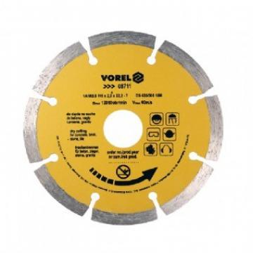 Disc diamantat cu segmente 115mm, Vorel 08711 de la Viva Metal Decor Srl
