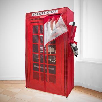 Dulap textil - cabina telefonica London de la Plasma Trade Srl (happymax.ro)