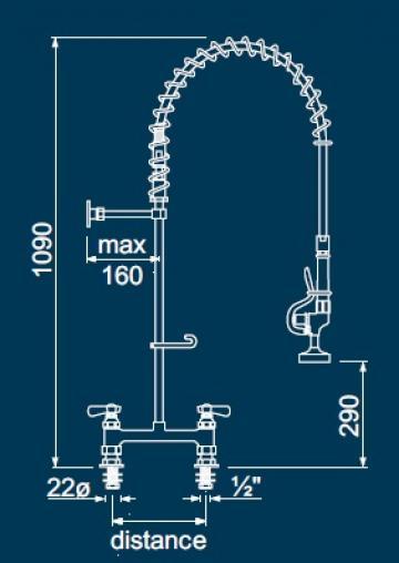 Dus prespalare vase cu doi robineti 547304