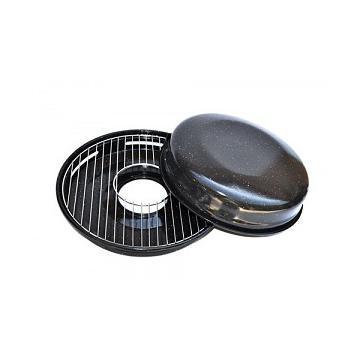 Grill metalic cu maner pentru aragaz de la Preturi Rezonabile