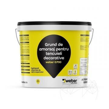 Grund de amorsaj Weber G700, 20kg de la Piatraonline Romania