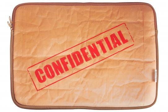 Husa neopren Laptop Confidential