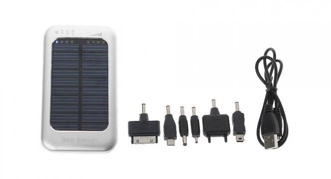 Incarcator solar 5000mAH WN80811 de la Thegift.ro - Cadouri Online