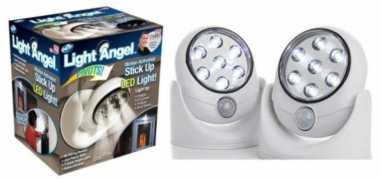 Lampa LED fara fir Light Angel, 360 grade, 4 x AA