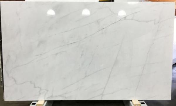 Lastra marmura Bianco Ibiza alb lustruit 271x123x2