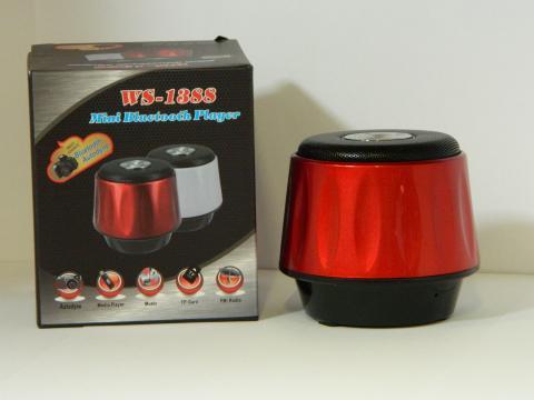 Mini boxa portabila cu FM Wster WS-1388