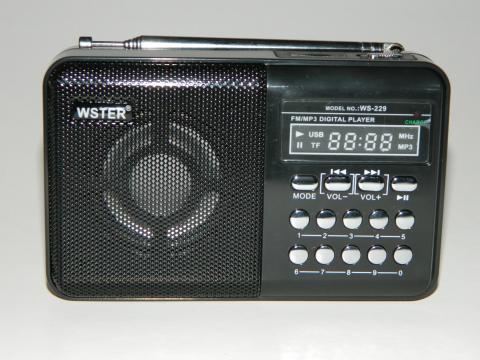 Mini radio FM Wster WS-229