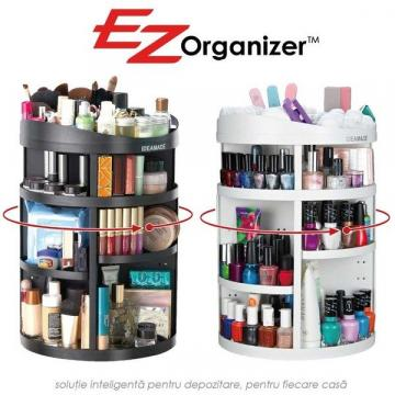 Organizator rotativ pentru cosmetice compartimentat 360 EZ de la Www.oferteshop.ro - Cadouri Online