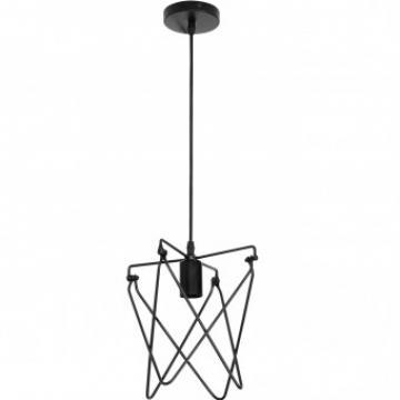 Pendul Kepler Vintage, max 60W, diametru 320 cm, negru