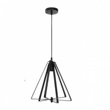 Pendul Maxwell Vintage, max 60W, diametru 320 cm, negru de la Viva Metal Decor Srl