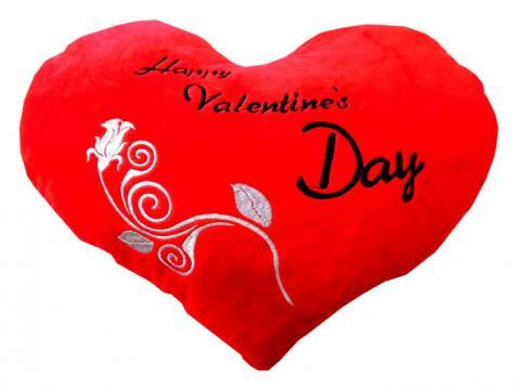 Perna cu mesaj romantic Happy Valentine's Day de la Thegift.ro - Cadouri Online