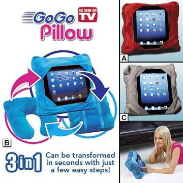 Perna multifunctionala Gogo Pillow 3 in 1 de la Www.oferteshop.ro - Cadouri Online