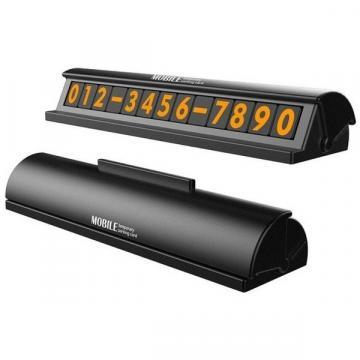 Placuta numar telefon parcare pentru bord cu numere magnetic de la Www.oferteshop.ro - Cadouri Online