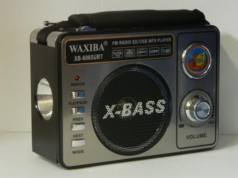 Radio portabil cu MP3 player Waxiba XB-6062URT de la Preturi Rezonabile