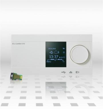 Regulator electronic pentru compensare climatica de la Q. Euro Soft Srl