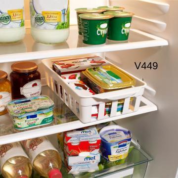 Set 2 cutii depozitare in frigider - 30,5x18 cm