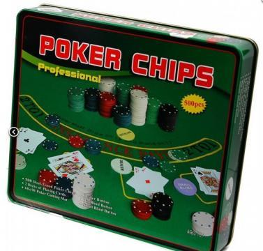 Set Poker 500 jetoane cutie