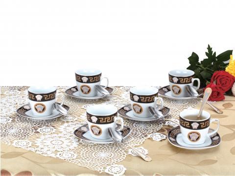 Set cesti cafea 18 piese E ZL 740B de la Preturi Rezonabile