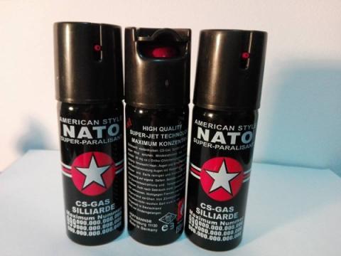 Spray paralizant pentru autoaparare Nato 60 ml de la Www.oferteshop.ro - Cadouri Online