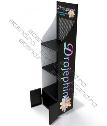 Stand display polite pentru drajeuri 1546 de la Rolix Impex Series Srl
