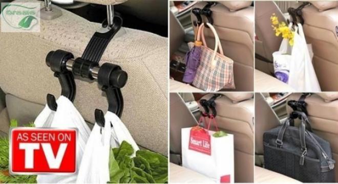 Suport auto Vehicle Hanger pentru tetiera masinii de la Www.oferteshop.ro - Cadouri Online