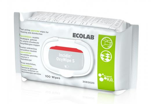 Servetele dezinfectante Incidin OxyWipe S - 100 buc de la Medaz Life Consum Srl