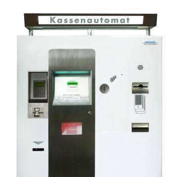 Automat plata parcare numerar si card - Platinum Modular