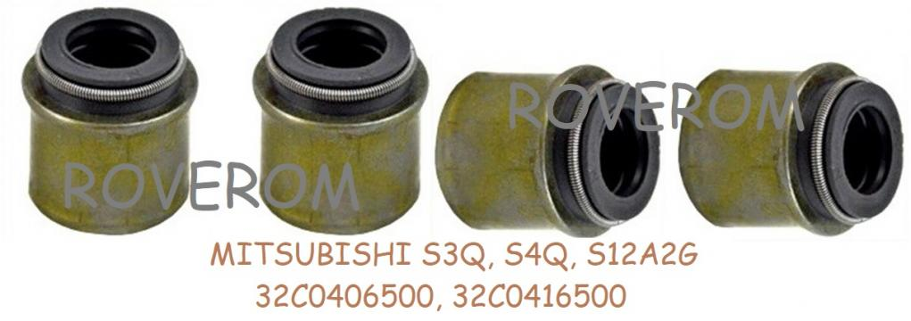 Simering supape Mitsubishi S4Q, S4Q2,Caterpillar, Terex de la Roverom Srl