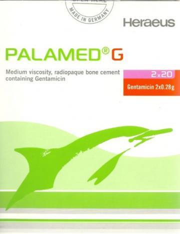 Ciment ortopedic medical Palamed