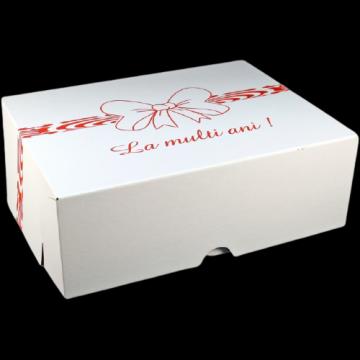 Cutii albe tort CT7 (41x51x16cm) de la Cristian Food Industry Srl.