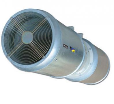 Ventilator Long range HCT/IMP-C-UNI-45-2/4T-3