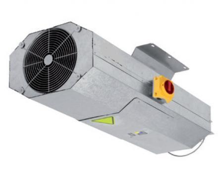 Ventilator Long range HCT/IMP-LS-UNI-38-2T-1.5 IE3