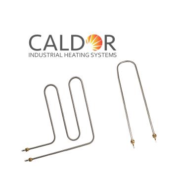 Rezistenta electrica tubulara bain-marie dreapta de la Caldor Industrial Heating Systems Srl
