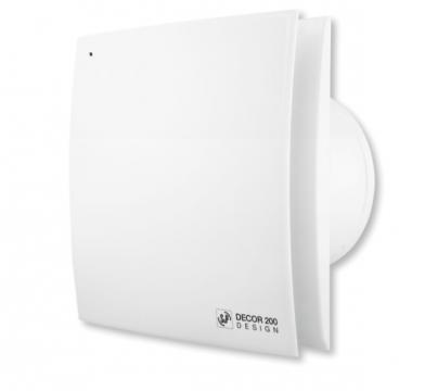 Ventilator de baie Decor-200 CHZ Design de la Ventdepot Srl