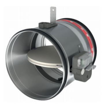 Amortizor circular ignifug 100 CR125+
