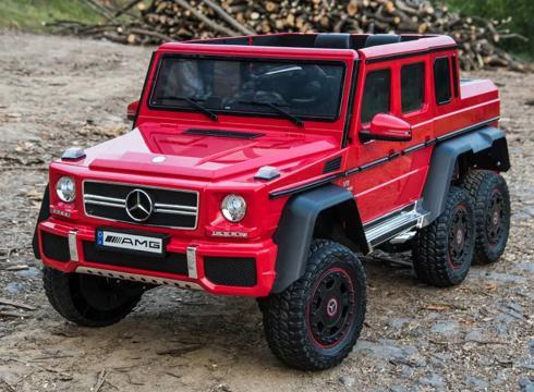 Jucarie masinuta electrica pentru copii Mercedes G63 6x6