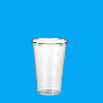 Pahar plastic transparent 200cc 1,8g 100 buc/set de la Cristian Food Industry Srl.