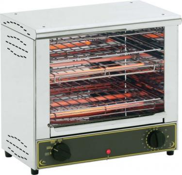 Toaster inox profesional cu doua camere Roller Grill