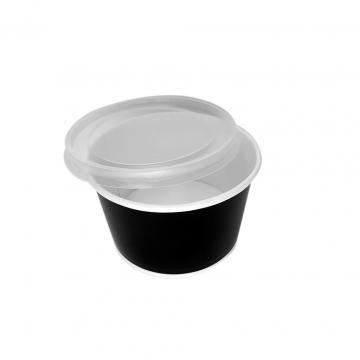 Bol supa carton negru 16oz (473cc) 500 buc/bax de la Cristian Food Industry Srl.