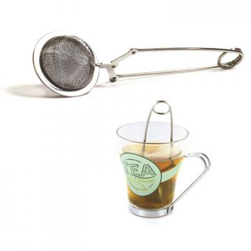 Infuzor pentru ceai si plante - cleste cu bila de la Plasma Trade Srl (happymax.ro)