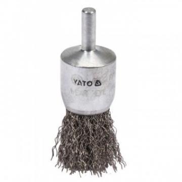 Perie rotativa Yato YT-47496, diametru 25mm, prindere 6 mm de la Viva Metal Decor Srl