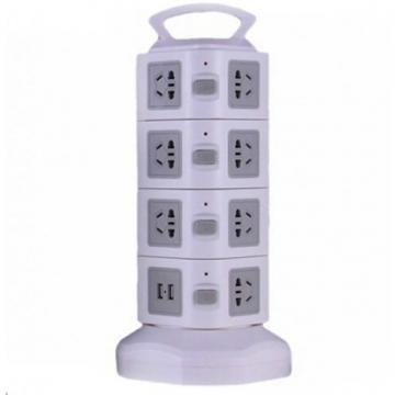 Prelungitor vertical universal cu 4 nivele, 16 prize