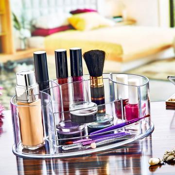 Organizator plastic makeup, cosmetice oval de la Plasma Trade Srl (happymax.ro)