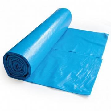 Saci menaj LDPE - albastri - 240 litri - 10 buc de la Medaz Life Consum Srl