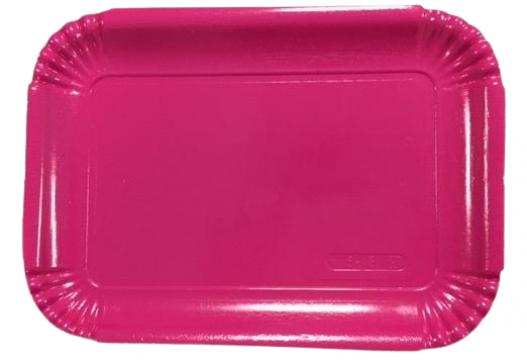 Tavite groase din carton fuchsia N.5=4B (20,4x28,8cm) de la Cristian Food Industry Srl.