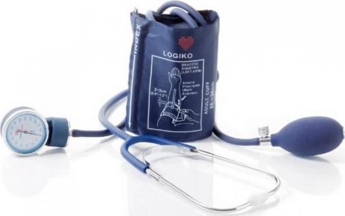Tensiometru mecanic Moretti cu stetoscop - DM333