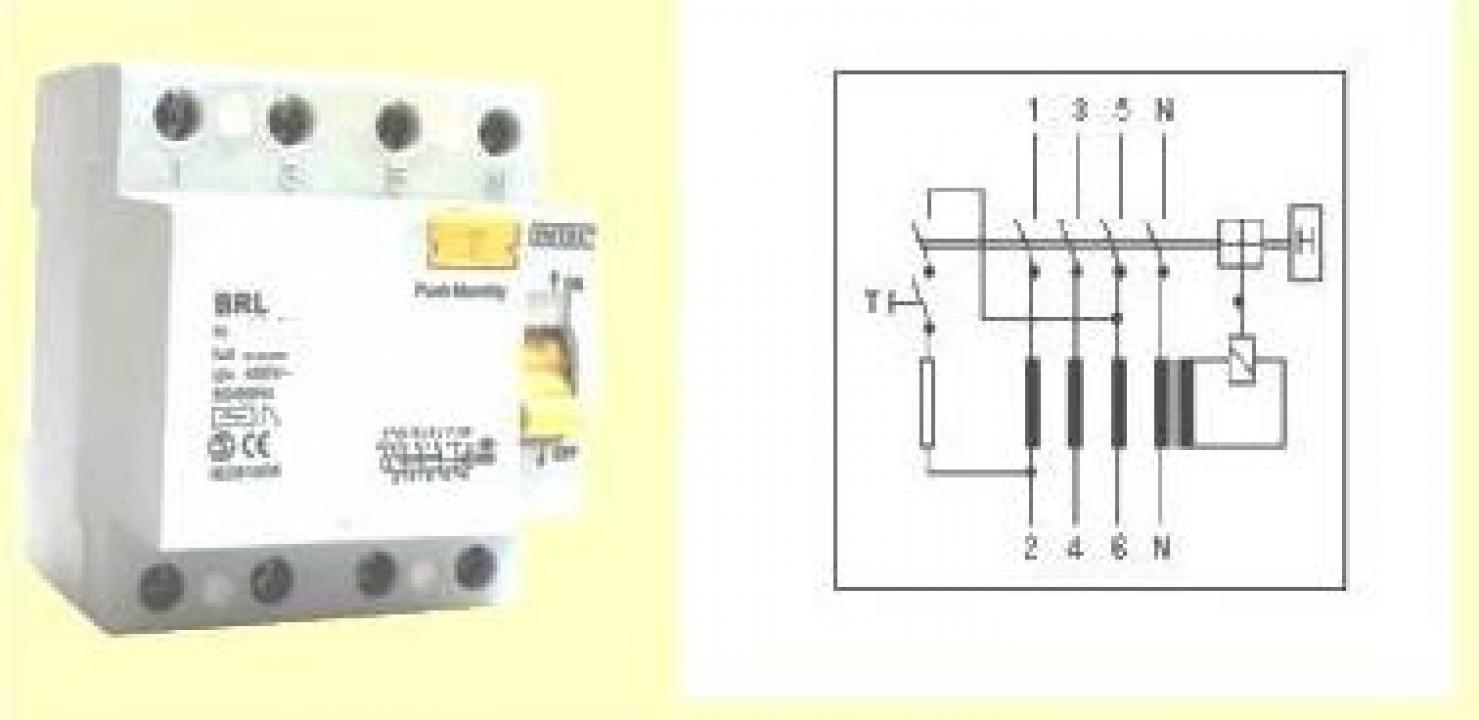 Intrerupator automat diferential 4P, 40A, 400V